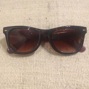 Betsey Johnson Wayfarer Sunglasses